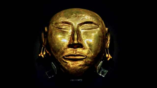 不次于三星堆!沈阳曾出土辽代金面具,眉毛胡须清晰可见