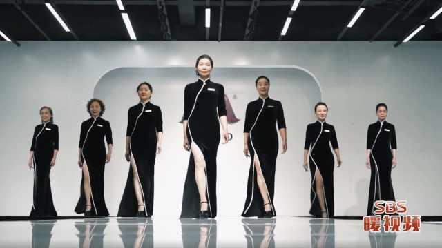 张家港这群女团的模特都年近六旬了