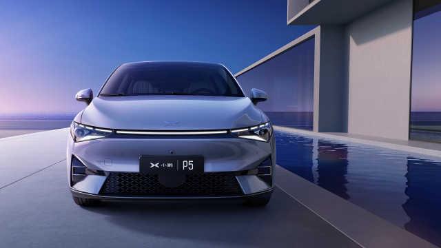 小鹏推全球首款激光雷达量产车P5,自动驾驶优势超越特斯拉