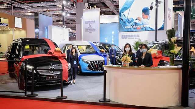 伟昊汽车亮相上海车展,用改装诠释顶级奢华