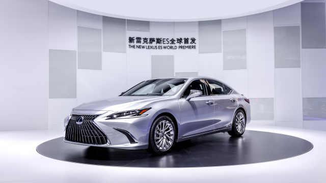 新雷克萨斯ES全球首发,雷克萨斯电气化概念车LF-Z全球首展