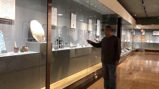 70后大叔花300万建凌河博物馆,收藏3000多件文物