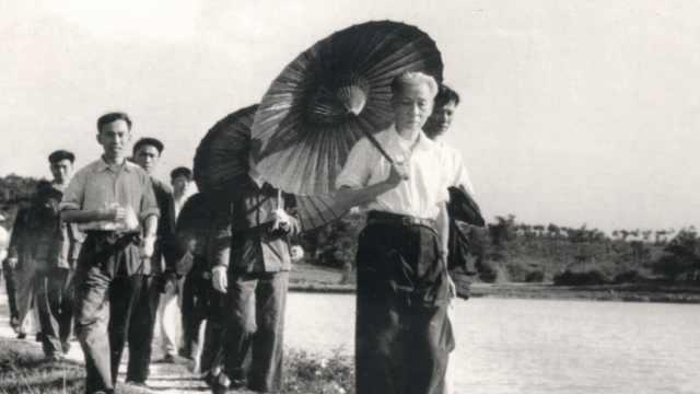 刘少奇同志1961年湖南农村调查影像