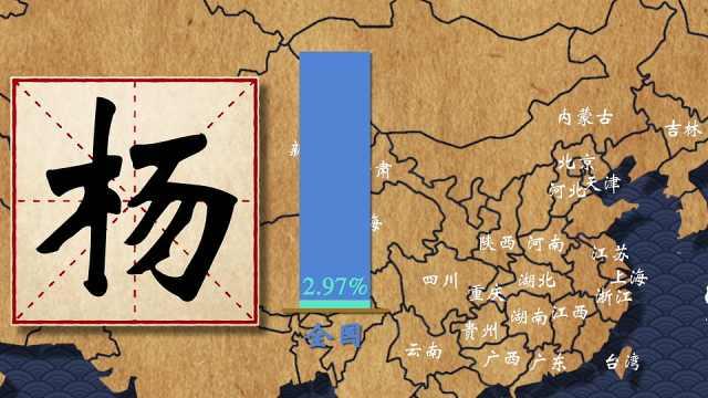 各大姓氏在中国是怎么分布的?你的姓氏在哪里人口最多?