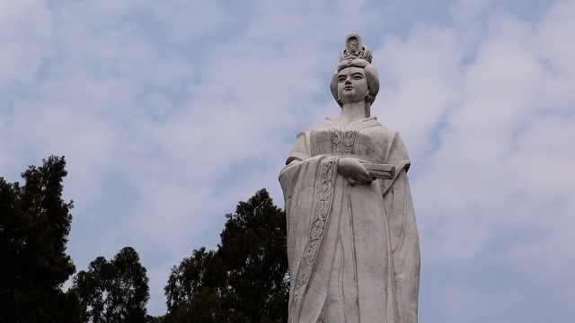 武则天故里处处彰显女皇元素,村民:女人婚后都掌家