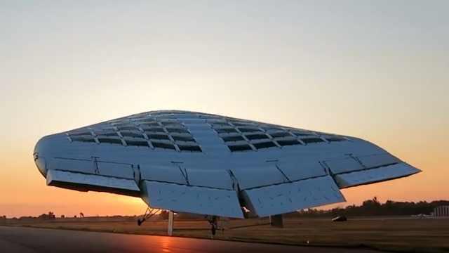 """""""永不坠落""""的太阳能飞艇,远途运输首选"""