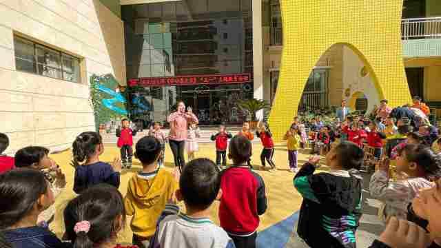 庆化幼儿园开展五一劳动节主题教育活动