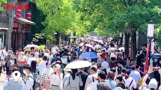 长假第二天,南京各景区人流爆棚,科普场馆亮点纷呈