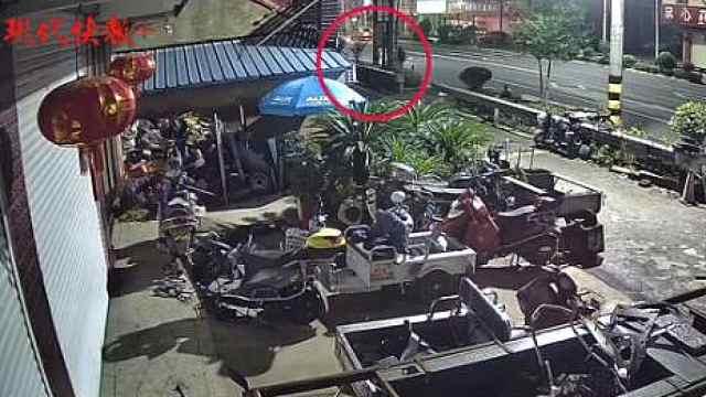 8旬老人横穿马路被撞身亡,10米外就是斑马线