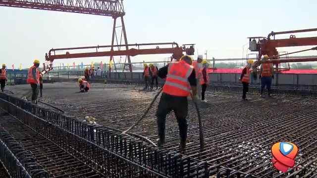 重点工程沪苏湖铁路建设进入新阶段