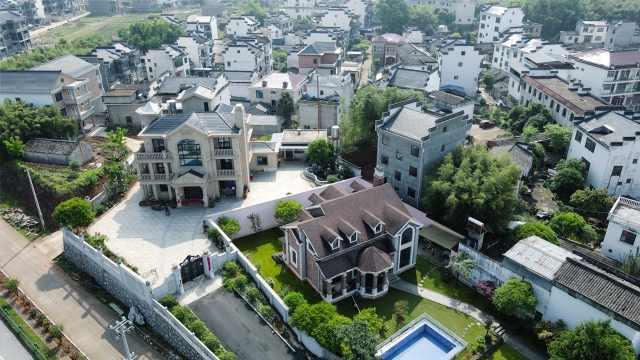 """安徽""""欧元村""""家家盖独栋别墅,上千人在欧洲干事业"""