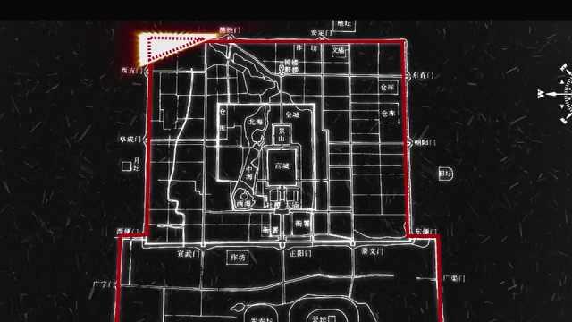 """古代建筑讲究""""天圆地方"""",为何独独明清北京城缺西北一角?"""