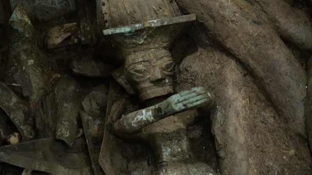 三星堆3号祭祀坑让考古专家笑出声:就像聚宝盆,可遇不可求