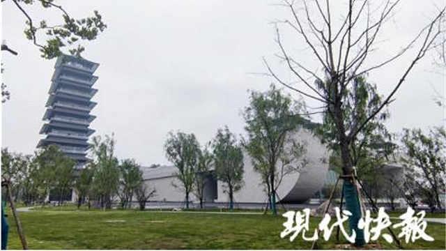 """掀开""""面纱"""",中国大运河博物馆""""鸟语花香"""""""