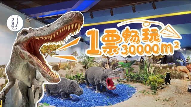 畅玩1.5亿打造,全深最大室内梦幻乐园!