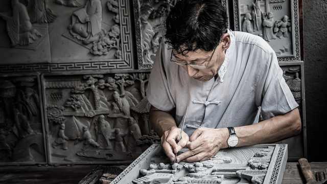 魏氏砖雕:听说有人在模仿我,想学中国风再练200年吧!