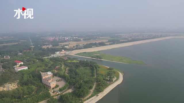 滹沱河生态补水,到位!