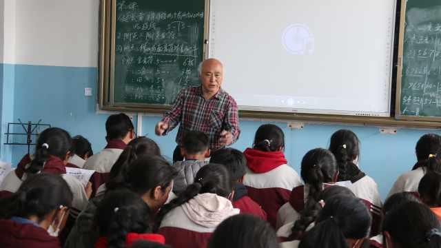 上海教师赴青藏高原教音乐,把孩子歌声带到大剧院