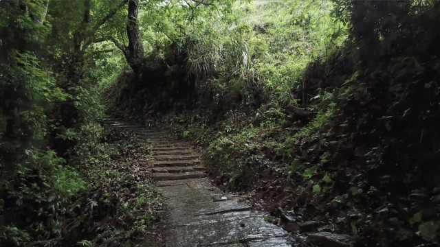这个村寨有上万级清朝石板古道,1000多人寨子有128名大学生