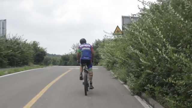 独脚村医曾骑行360公里,梦想骑行川藏线