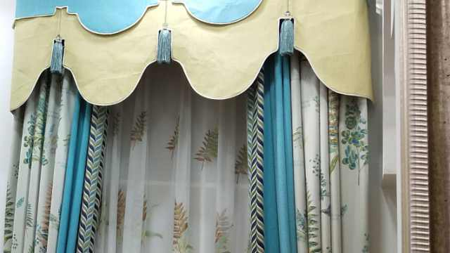 室内窗帘还搭配的不伦不类?5条搭配经验,让家变得更时尚