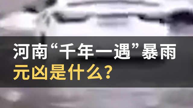 """河南""""千年一遇""""暴雨,元凶是什么?#WOW·热点#"""