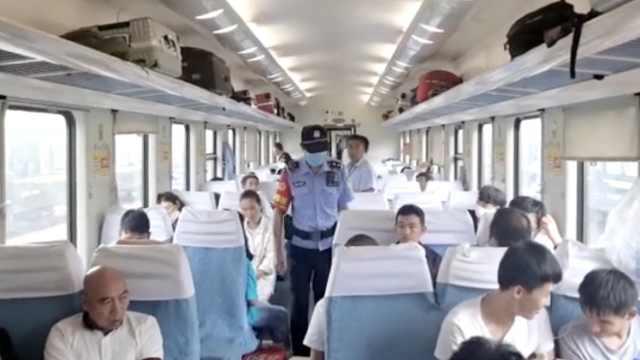 K928次列车800人滞留河南30小时,乘警买来百件矿泉水方便面