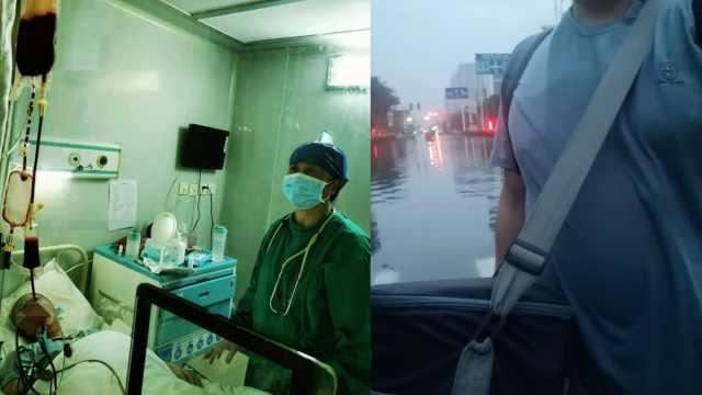 河南医生连夜辗转380公里送回造血干细胞:等不了,是救命的