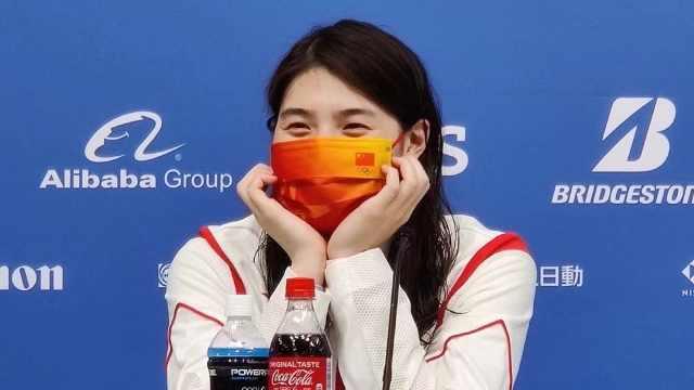 张雨霏获奥运100米蝶泳银牌,妈妈忆成长之路:为国争光应该的