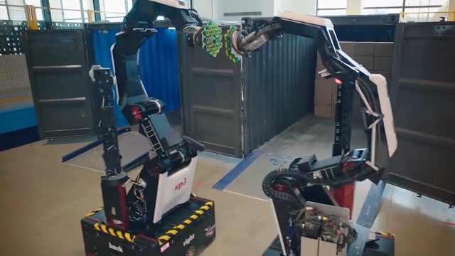 """仓库第一""""苦力"""",Stretch搬运机器人,惊呆众人"""