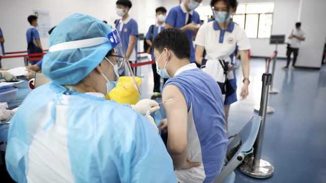 开打了!深圳市启动12-17岁人群新冠病毒疫苗接种