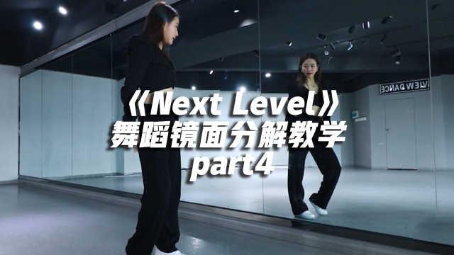 aespa 《Next Level》舞蹈镜面分解教学 part4