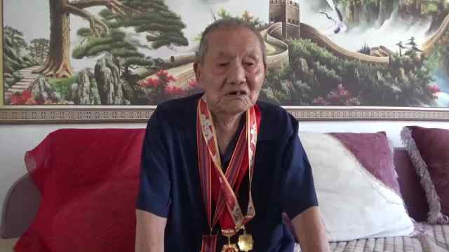 91岁老兵忆峥嵘岁月,长津湖战役拼刺刀,最大愿望去看天安门