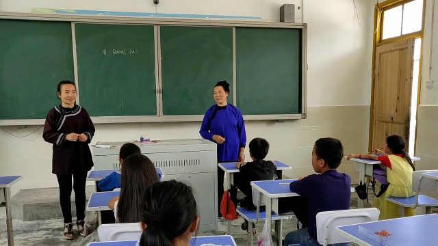 100个夏天|山村小学老师邀请妈妈教唱侗歌,学生:变得更开朗