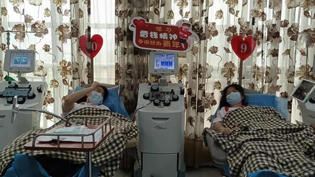 100个夏天|大一新生暑假做防疫志愿无偿献血:比旅游更有意义