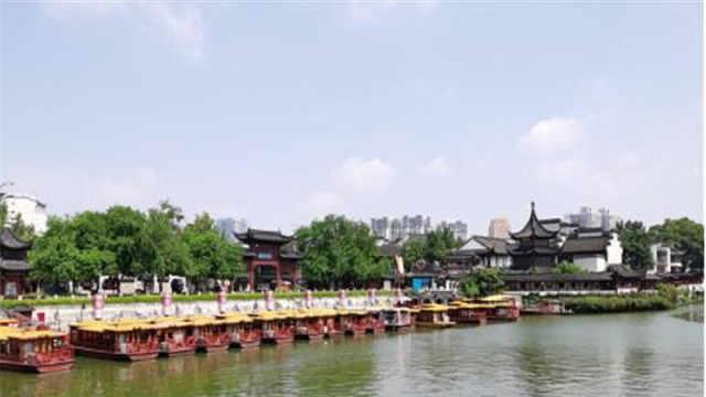 南京夫子庙室外景区恢复开放,熟悉的老城南正慢慢回归