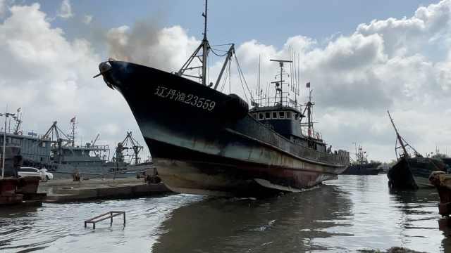 黄渤海开海倒计时!实拍辽宁东港码头船坞,万艘渔船忙碌待开海