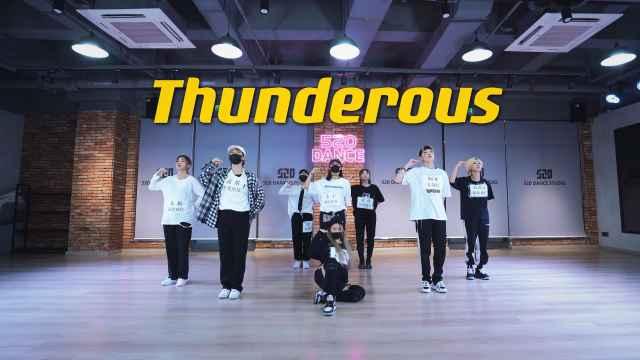 【孙子团训练】Stray Kids-Thunderous舞蹈翻跳练习室直拍