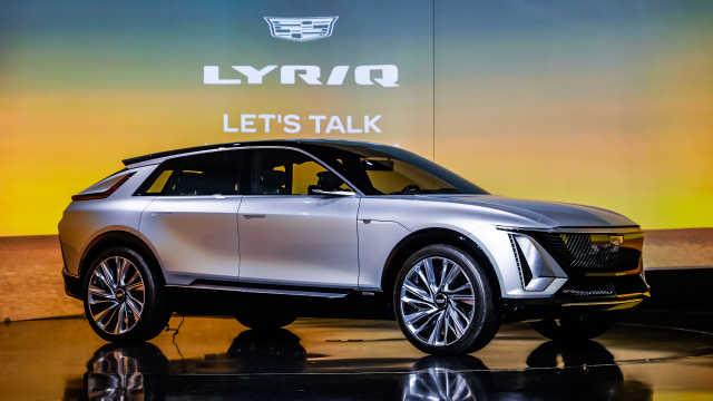 定义豪华出行未来 凯迪拉克首款豪华智能纯电SUV LYRIQ预售