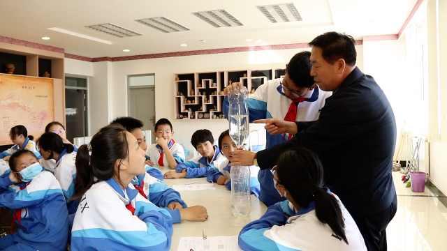 物理老师用2瓶水模拟龙卷风:动手动脑才是完整的教育