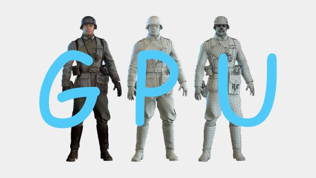 GPU是怎么处理游戏画面的?
