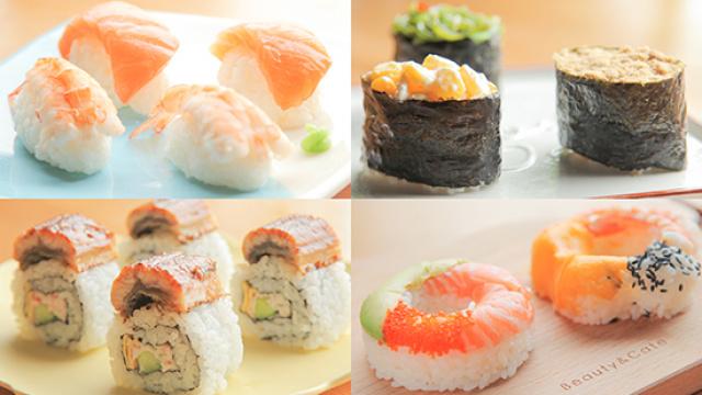 寿司的3+1种有爱吃法