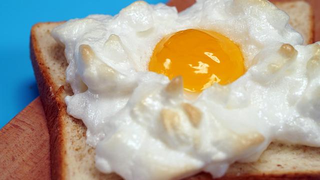 网红早餐火烧云吐司