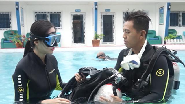夏天基本技能之潜水教程快来get吧