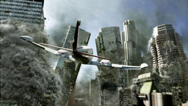 世界各国联合秘密建造神秘的飞船