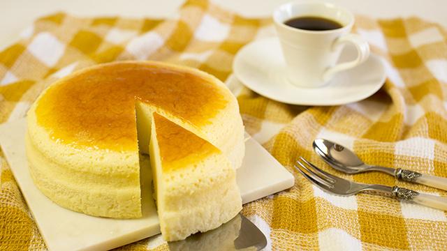 不开裂黄金轻乳酪蛋糕