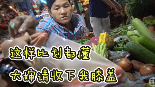 国外买菜你还担心不会英语吗?