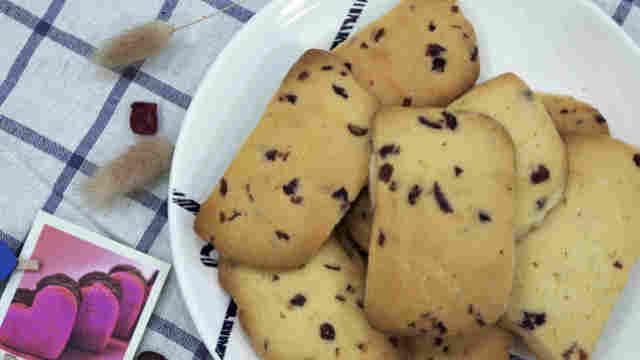 这才是蔓越莓饼干的正确打开方式