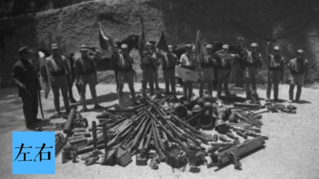 百万日军投降后武器装备去了哪?