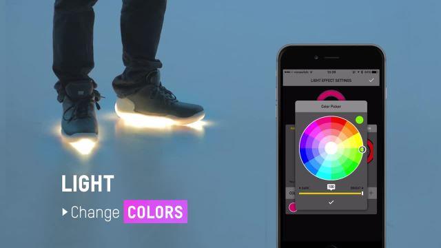 智能彩虹舞鞋,潮流你生活